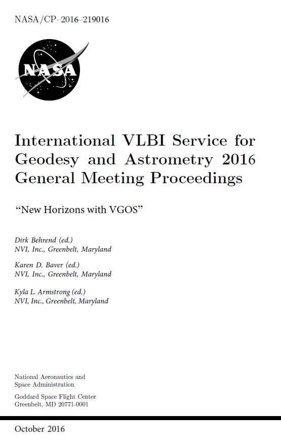 IVS GM2016 Proceedings